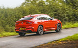 BMW X4 M Competition 2019 road test review - hero rear