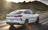 BMW X6 M Competition 2020 road test review - hero rear