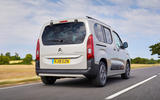 Citroen Berlingo 2018 road test review - hero rear