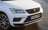 Cupra Ateca 2019 road test review - front bumper