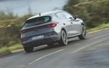 Cupra Leon 2020 road test review - hero rear