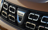 Dacia Duster 2018 road test review front grille