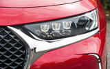 DS 7 Crossback 2018 road test review headlights