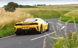 Ferrari 488 Pista 2019 road test review - hero rear