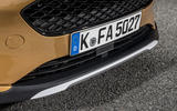 Ford Fiesta Active 2018 road test review lip spoiler
