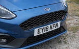 Ford Fiesta ST 2018 road test review front grille