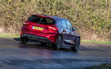 Ford Focus ST-line X 2019 road test review - hero rear