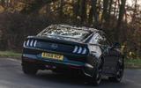 Ford Mustang Bullitt 2018 road test review - hero rear