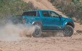 Ford Ranger Raptor 2019 road test review - hero rear