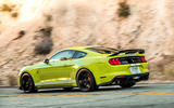 Ford Shelby Mustang GT500 2020 road test review - hero rear