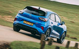 3 Ford Puma ST 2021 road test review hero rear