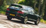 3 Genesis GV80 2021 road test review hero rear