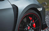 Honda Civic Type R 2019 road test review - alloy wheels