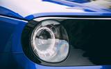 Honda e 2020 road test review - headlights