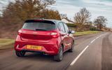 Hyundai i10 2020 road test review - hero rear