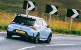 3 Hyundai i20 N 2021 RT tracking rear