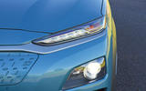 Hyundai Kona Electric 2018 road test review - headlights