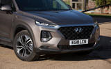 Hyundai Santa Fe 2019 road test review - front bumper