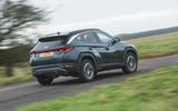 3 Hyundai Tucson 2021 road test review hero rear
