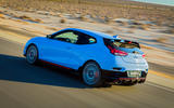 Hyundai Veloster N 2018 review - hero rear