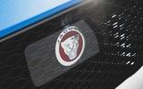 Jaguar F-Pace SVR 2019 first drive review - bonnet badge