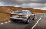 Jaguar F-Type 2020 road test review - hero rear