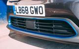 Kia e-Niro 2019 road test review - front grille