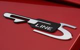 Kia Optima Sportswagon 2018 review - GT line badge