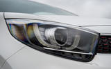 Kia Picanto review headlights