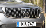 Kia Sorento 2018 road test review kidney grille