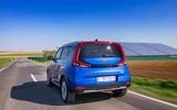 Kia Soul EV 2019 European first drive - hero rear