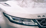 3 Land Rover Range Rover Evoque 2021 road test review headlights