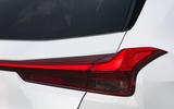 Lexus UX 2019 road test review - rear lights