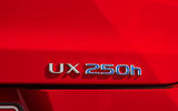 Lexus UX 2018 road test review - boot badge
