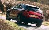 3 Mazda MX 30 2021 road test review hero rear