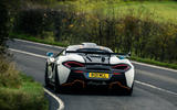 3 McLaren 620R 2021 road test review hero rear