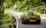 McLaren Speedtail 2020 UK first drive review - hero rear