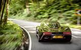 McLaren Speedtail 2020 UK first drive review - hero rear