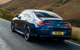 Mercedes-AMG CLA35 2020 road test review - hero rear