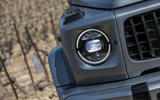 Mercedes-AMG G63 2018 review headlights