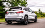 Mercedes-AMG GLA 45 S Plus 2020 road test review - hero rear