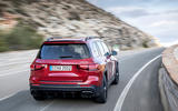 Mercedes-AMG GLB 35 2020 road test review - hero rear