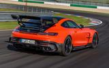 Mercedes-AMG GT Black Series road test review - hero rear