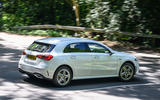 Mercedes-Benz A250e 2020 road test review - hero rear