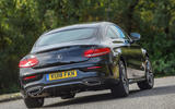 Mercedes-Benz C-Class Coupe 2019 review - hero rear