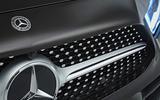 Mercedes-Benz CLS 400d 2018 review front bumper