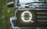 Mercedes-Benz G-Class 2019 road test review - headlights