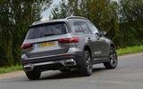 Mercedes-Benz GLB 2020 road test review - hero rear