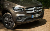 Mercedes-Benz X-Class road test review front end