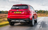 MG HS 2019 road test review - hero rear